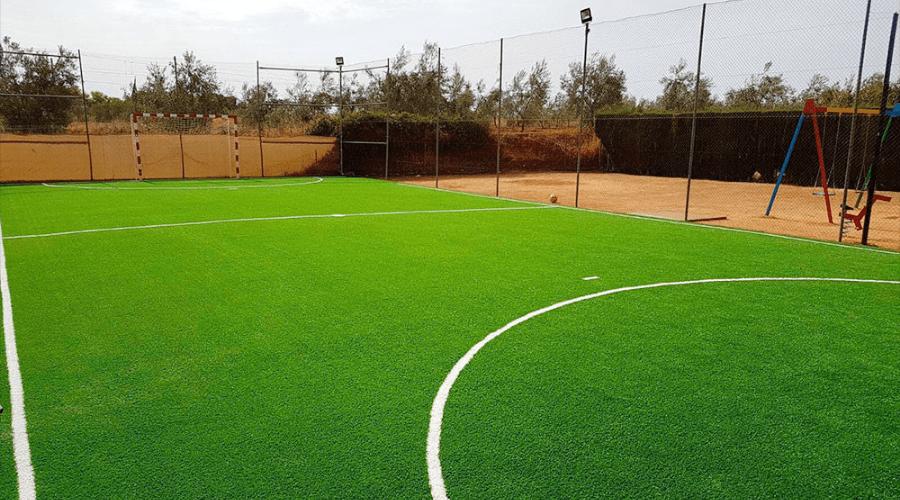 césped artificial para fútbol, instalación de Verdegreen Césped