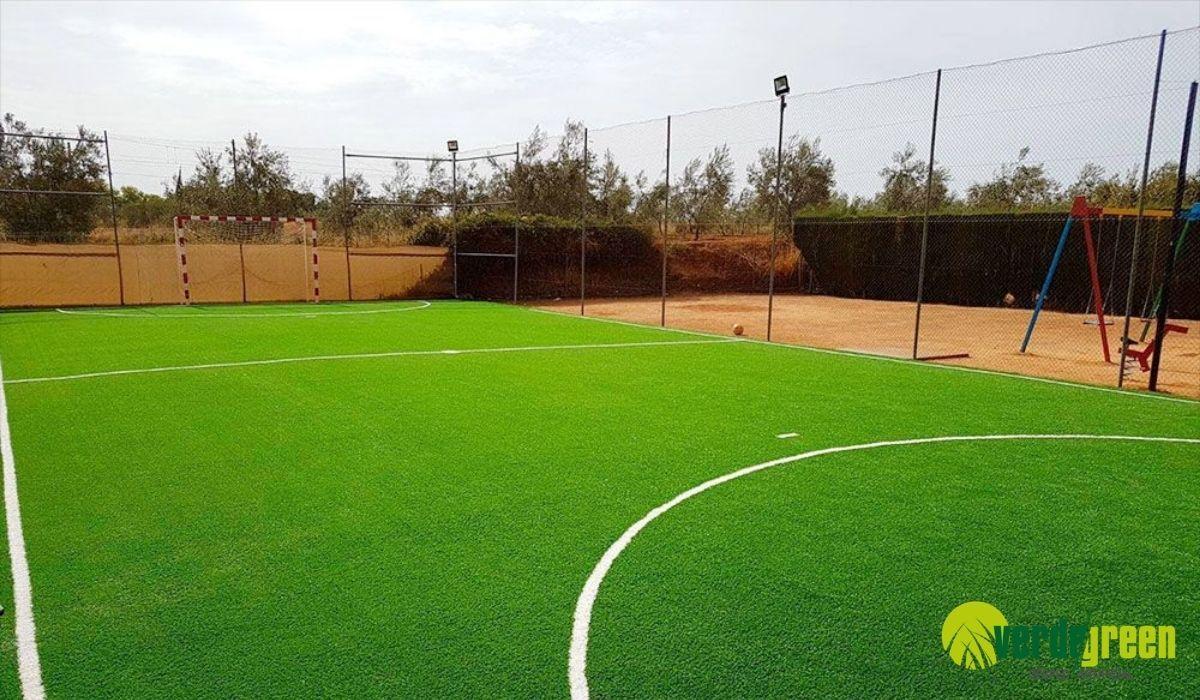 césped artificial para fútbol